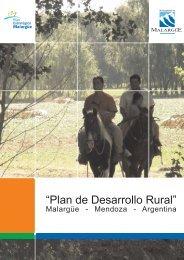Plan Des Rural-Presentacion - Plan Estratégico de Malargüe
