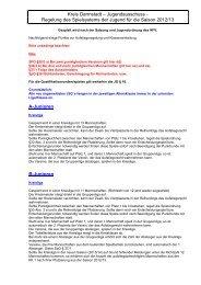 Aufstiegsregelungen 2012-13 - KJA Darmstadt