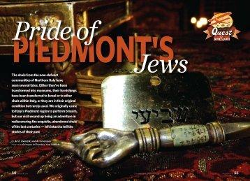 Piedmont's Jews - Halachic Adventures