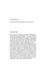 Hans Joachim Iwand, Das Bild Jesu Christi nach ausgewählten ...