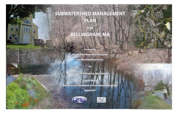 subwatershed management plan bellingham, ma - Charles River ...