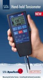 Hand-held Tensiometer - Neurtek