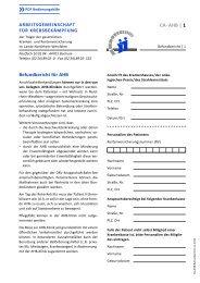 Befundbericht (CA 5-AHB*) - Klinik Bad Oexen