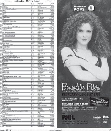 Bernadette Peters Bernadette Peters - WhatzUp