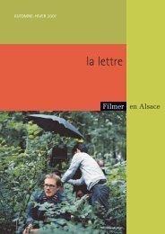 la lettre - Filmer en Alsace