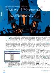 História de fantasma - Linux Magazine
