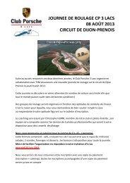 journee de roulage cp 3 lacs 08 août 2013 circuit de dijon-prenois