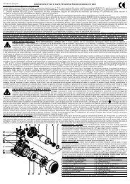 istruzioni d'uso e manutenzione per motori elettrici - Pawo-Alu