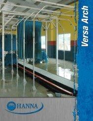 Hanna Versa Arch Light Kits - Hanna Car Wash