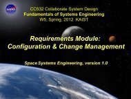 Configuration & Change Management - Systems Modeling ...