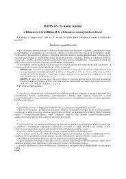 38/1995. (IV. 5.) Korm. rendelet a közmuves ivóvízellátásról és a ...