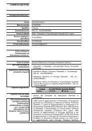 curriculum vitae - ASL AL