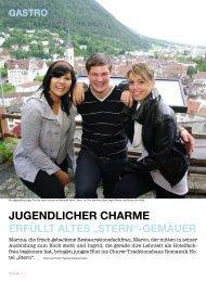 Kultchur Magazin - Jugendlicher Charme - Hotel Stern Chur