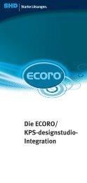 Die ECORO/ KPS-designstudio- Integration - SHD