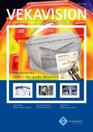 Fenstermarkt 2009 – der große Überblick - Veka