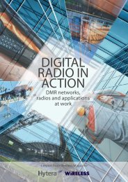 digital radio in action - Hytera Communications Corporation Limited