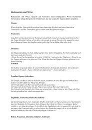 Redensarten und Witze - Examen Europaeum