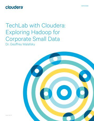TechLab-Cloudera-Exploring-Hadoop-for-Corporate-Small-Data