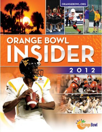With mobile apps - Orange Bowl