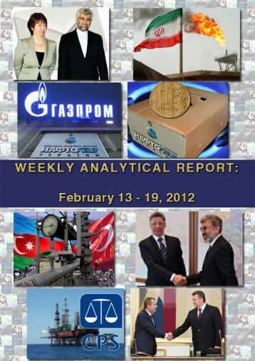 Weekly analytical report: February 13 - 19, 2012 - Українська ...