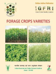 Forage Crops Varieties - Indian Grassland and Fodder Research ...