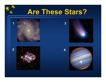 Are These Stars?
