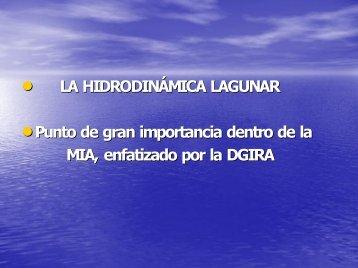 Hidrodinámica lagunar - Gobierno del Estado de Colima