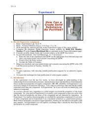 Pre-Lab Preparation Sheet