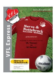 VfL Theesen vs SC Herford - abraweb