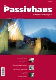 Das Passivhaus, 2011/2012 (PDF 1mb) - Honegger Architekt