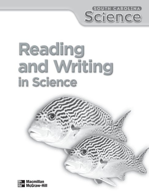 Reading And Writing In Science Grade 5 Macmillan McGraw Hill