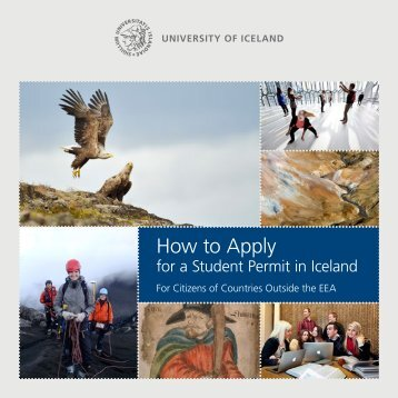 How to Apply for a Student Permit - University of Iceland