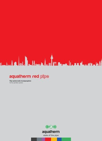 aquatherm red pipe Technical Manual