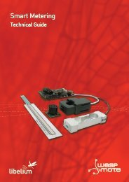 Smart Metering - Libelium