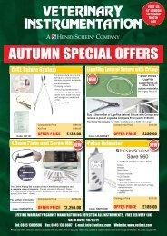 J51759_Autumn Special Offer 12pp - Veterinary Instrumentation