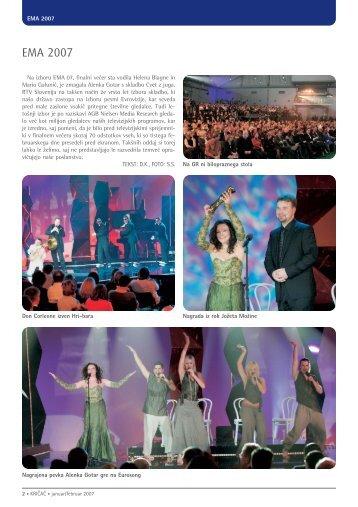Kričač, jan. 2007, stran 19 - RTV Slovenija