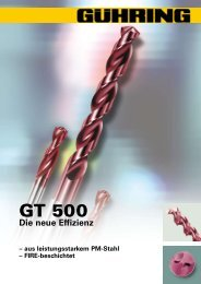 GT 500 - Gühring oHG