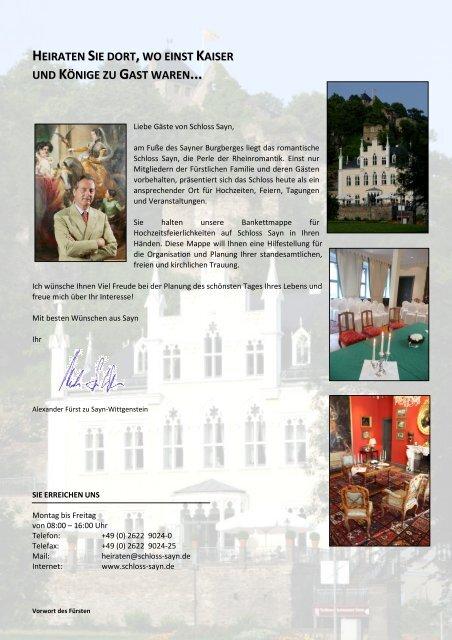 Standesamtliche Trauung Von Claudia Und Marius Auf Der Burg Sayn