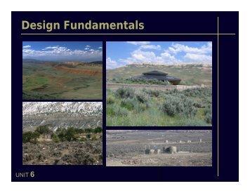 6. Design Fundamentals