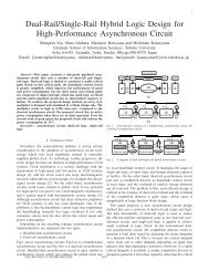 Dual-Rail/Single-Rail Hybrid Logic Design for High-Performance ...