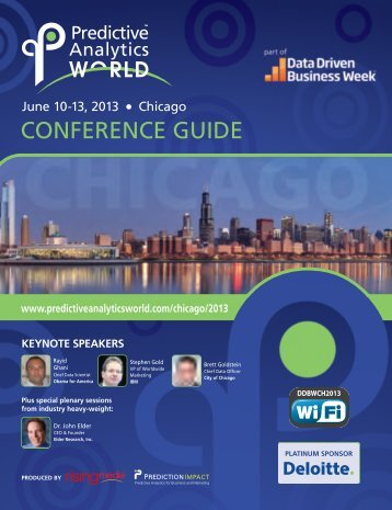 Download the Conference Guide for PAW Chicago, June 10-13, 2013