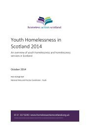 Youth Homelessness in Scotland Report 2014 (full)