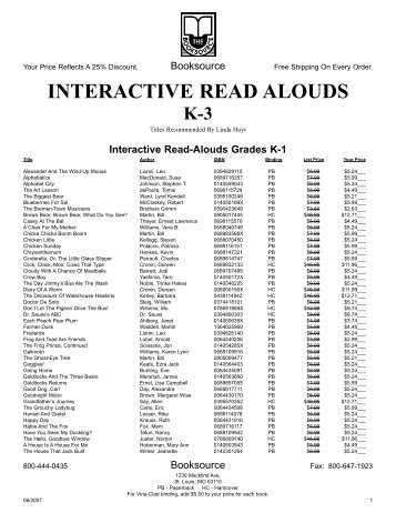 Title page, syllabus and recommended reading