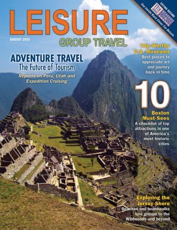 Full August 2013 Edition - Leisure Group Travel