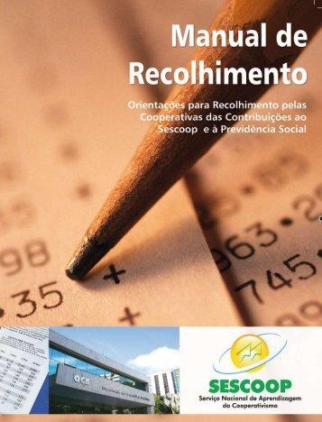 Orientações para Recolhimento pelas Cooperativas das ...