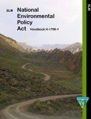 NEPA 2008 Handbook - National Public Lands NEWS