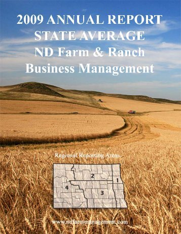 2009 State Report - North Dakota Farm Management