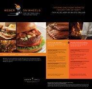 Download Printer-Friendly Catering Menus - Weber Grill Restaurant