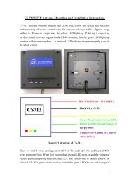 CS-713 RFID Antenna Mounting and Installation Instructions