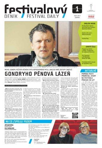 gondryho pěnová lázeň - Mezinárodní Filmový Festival Karlovy Vary